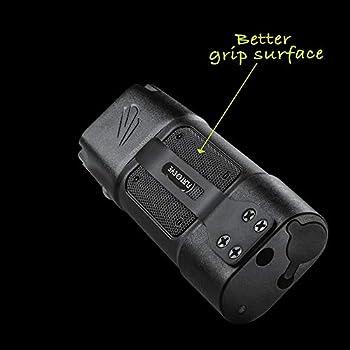 1000 Lumens FL-7189 FLATEYE F-1000 High Performance UNROUND Flashlight CREE LED Multi Position Waterproof /& Shockproof