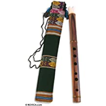 NOVICA MUI0009 Song of The Andes' Wood Quena Flute