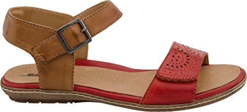 Earth Star Scarlet Soft Leather