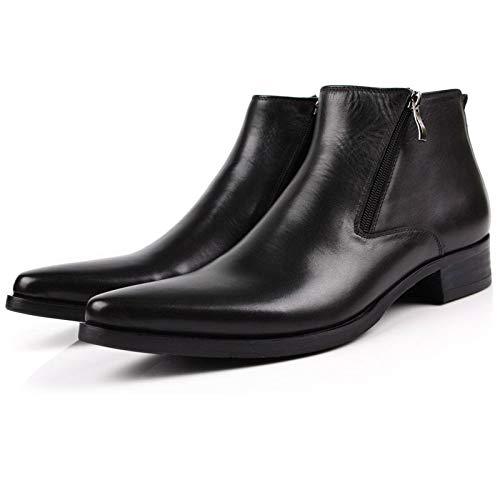 LOVDRAM Stiefel Männer Mode Wies Männer Stiefel Mode Geschäft Hohe Kleid Hilfe Kleid Hohe Stiefel Lederstiefel Cowboy Martin Stiefel 80db2b