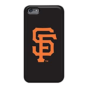 Shockproof Cell-phone Hard Cover For Apple Iphone 6s Plus With Custom Lifelike Baseball San Francisco Giants 3 Skin DeanHubley