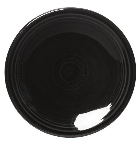 (Fiesta 6-1/8-Inch B&B Plate, Black)