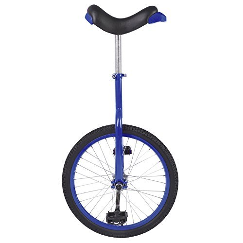 Fun 20 Inch Wheel Unicycle with Alloy Rim, - Unicycle Blue