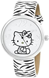 Sanrio Hello Kitty Women's HKAQ5369 Silver-Tone Watch