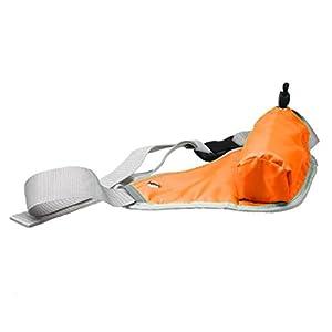 Fullfun Bicycle Sports Triangular Waist Bum Belt Bag Water Bottle Pouch Pocket Bag (Yellow)