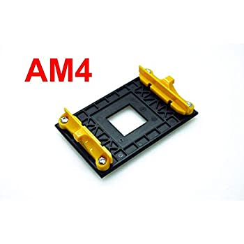 ANBE AM4 Retention Bracket & AM4 Back Plate (for AM4's Heat Sink Cooling Fan Mounting Clip-ON Type only)