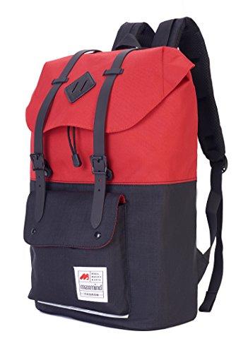 Laptop Backpack Casual Daypack Unisex School College Bag Rucksack for 15 Inch Laptop&Tablets Large Capacity Lightweight Travel Bag - Lightweight Safe Composite