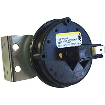 Tridelta Furnace Vent Air Pressure Switch Replacement for Part # FS6032A-1544 0.40 WC
