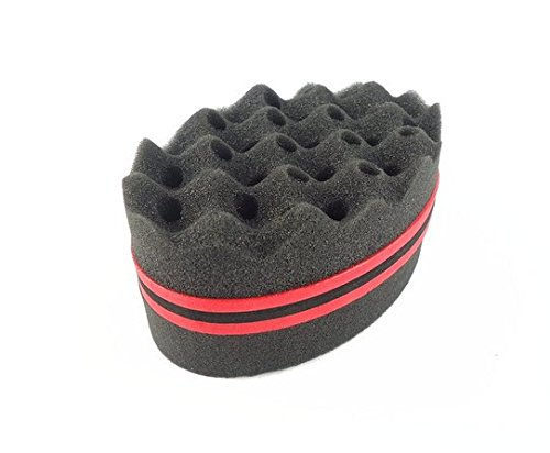1 Pieces Magic Barber Sponge Hair Brush For Twists Hot Afros,coils,dreadlocks Selected Material