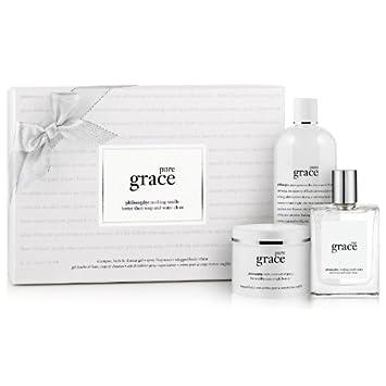 Amazon.com : philosophy pure grace layering set : Bath And Shower ...