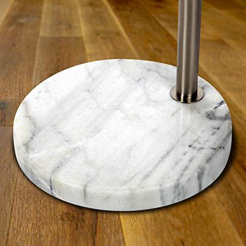 Brightech Mason – Arc Floor Lamp with Unique Hanging Drum ...