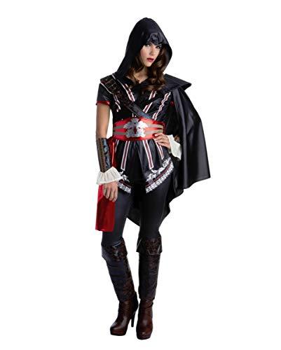 Horror-Shop Assassins Creed Ezio Auditore Disfraz para Damas S ...