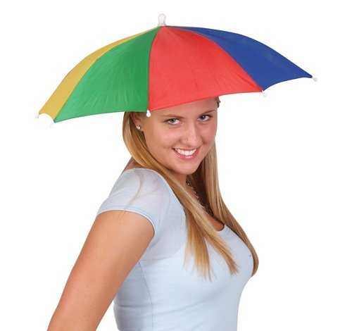 20'' UMBRELLA HAT, Case of 120 by DollarItemDirect