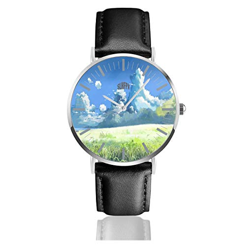 Miyazaki Wallpapers Men's Wrist Watches Luxury Waterproof Quartz Casual Watch Women ()