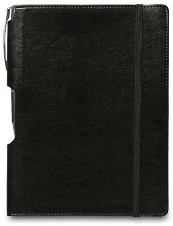 Rhythm Journal with Free Pen: Black, Medium 10 pcs sku# 1796333MA