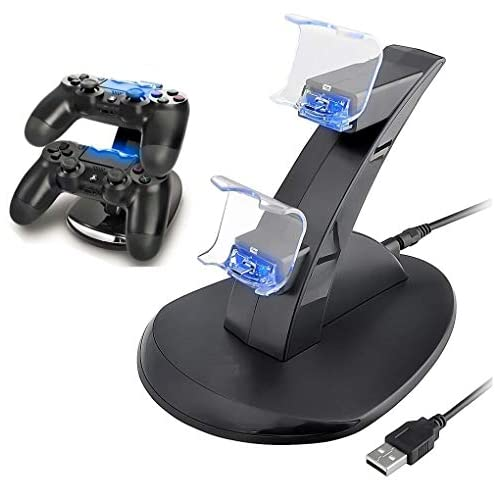 PS4 Controller Charger, Playstation 4 / PS4 Slim / PS4 PRO / PS4 Controller Charger, Charging Station, Charging Station, Dual USB Fast Charging Ps4 Station LED Indicator for Sony PS4 Controller by IHK 41rzS4N48gL  Home Page 41rzS4N48gL
