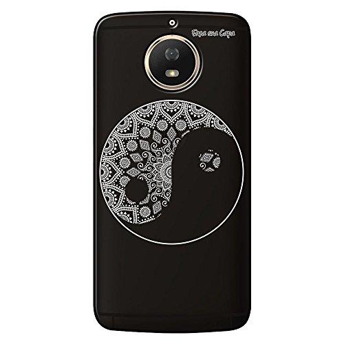Capa Grafite Personalizada Motorola Moto G5S XT1792 - Yin Yang - GF04