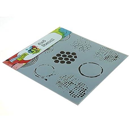 dise/ño de celos/ía /árabe 15,24/x/15,24/cm Plantillas para Estarcido Crafters Workshop