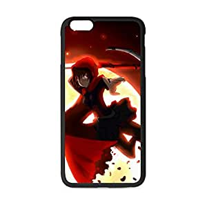 Unique Nice Design Custom Japan Anime RWBY Plastic&TPU Case for iPhone 6 Plus 5.5 inches (Laser Technology)