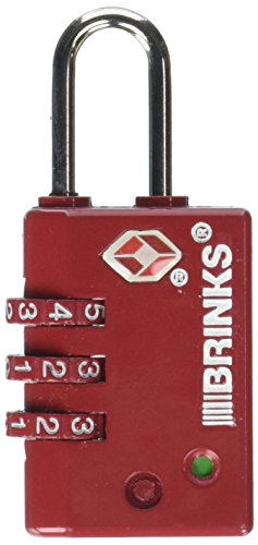 Brinks 175-25104 Zinc TSA Combination Lock, 25Mm