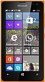 Microsoft Lumia 435 UNLOCKED Windows Phone 8 WP8 2G GSM 850/900/1800/1900MHZ, 3G 850/900/1900/2100MHZ (Orange)