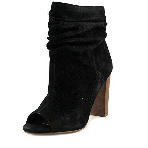 Splendid Jessika Women Peep-Toe Suede Ankle Boot