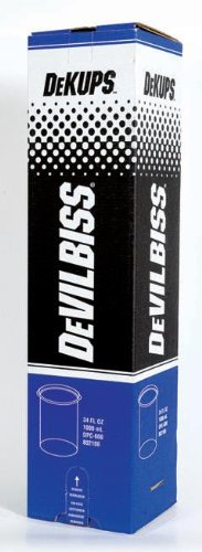 DeVilbiss DPC600 DeKups Disposable Cup and Lid