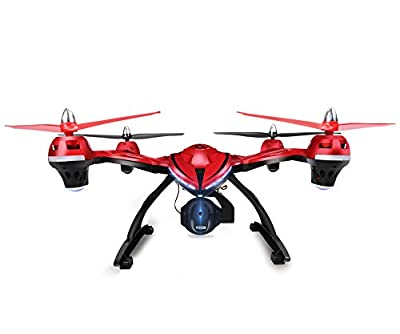 FPV Drone with Adjustable HD Camera, Holy Stone HS400 RC Quadcopter with Altitude hold, One Key Return and Headless Mode Function Includes Bonus Battery