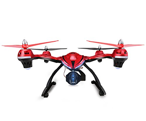 FPV-Drone-with-Adjustable-HD-Camera-Holy-Stone-HS400-RC-Quadcopter-with-Altitude-hold-One-Key-Return-and-Headless-Mode-Function-Includes-Bonus-Battery