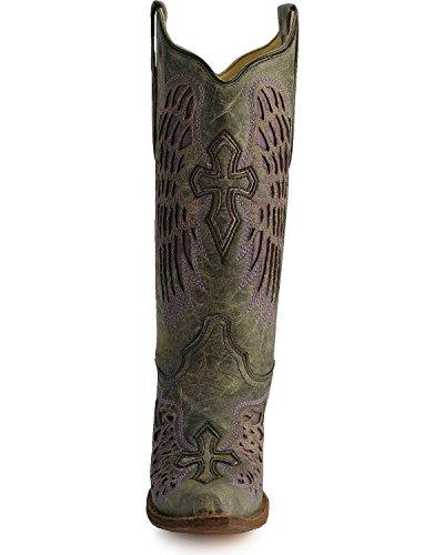Corral Kvinnor A1969 Vingen Och Tvär Svarta Mode Stövlar 6,5 M