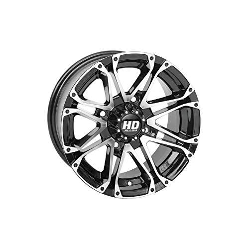 Gloss Black STI HD3 Front Or Rear Wheel 14-19 POLARIS RANRZR1000XE 14X7 4+3
