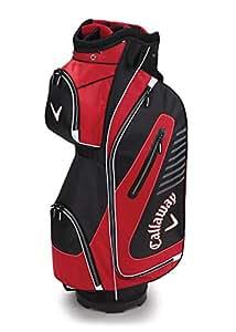 Callaway Golf 2017 Capital Cart Bag, Black/Red/White