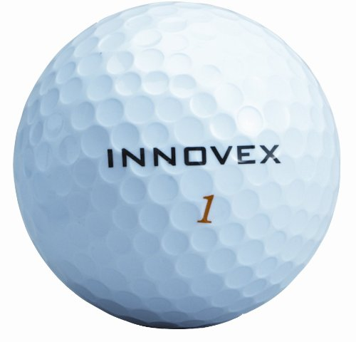 Innovex Golf E-Motion Tour Golf Balls-Pack of 12 (White), Outdoor Stuffs