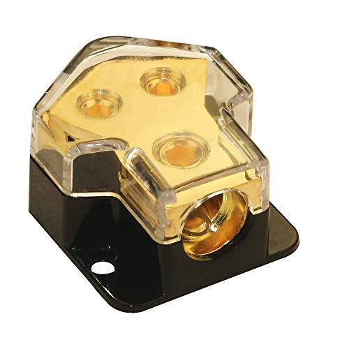 5 Way Power Distribution Block Car Auto Audio Amplifier 0//2//4 Gauge in 2//4//8 Gauge Out Power Ground Distributor Blocks,1 in 5 Way Car Power Distributor Block
