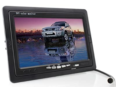 7 inch TFT LCD Digital Car Rear View Monitor with Waterproof Car Rear View Camera combo from The Rear View Camera Center