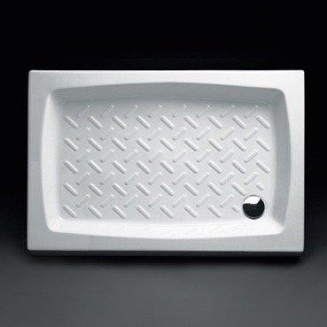 Piatto Doccia Ceramica 70x90.Piatto Doccia In Ceramica Rettangolare 70x90 Cm Topazio Amazon It
