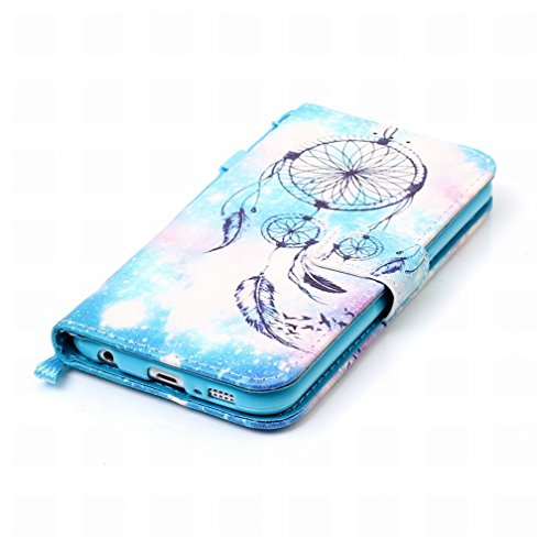 Skin Design Campanula Housing Card Samsung Slot Wallet Case G9200 Cover Cover Bumper Premium Stand Shell Shell Pu Flap Leather Flip Yiizy S6 Case Protective Case Slim Night FPHqPIYw