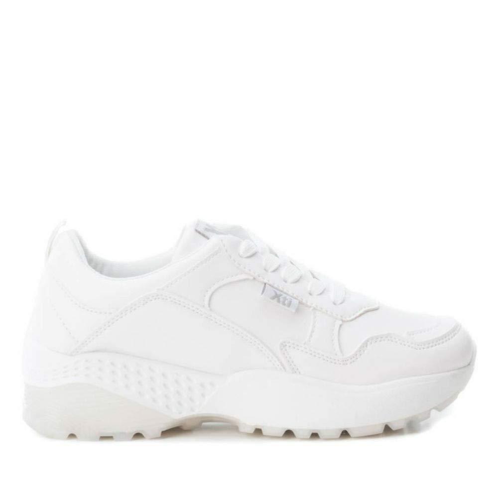 Zapatillas Blancas t-36 Plataforma xti: Amazon.es: Zapatos y complementos