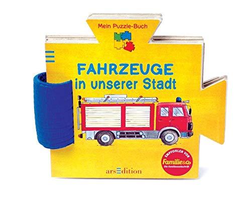 Fahrzeuge in unserer Stadt: Mein Puzzle-Buch