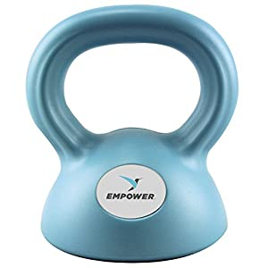 Empower Kettlebell Weight Set for Women, Adjustable Kettlebells 5 lbs, 8 lbs, 12 lbs, 3 In 1 Kettlebell Set