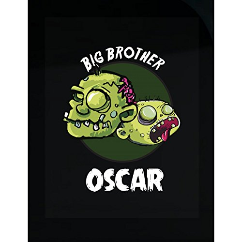 Prints Express Halloween Costume Oscar Big Brother Funny Boys Personalized Gift - Sticker -