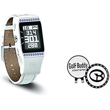 Golf Buddy Ladies LD2 GPS Watch with Swarovski Ball Marker