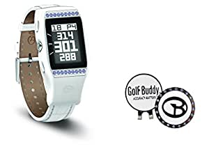Golf Buddy Ladies LD2 GPS Watch with Swarovski Ball Marker