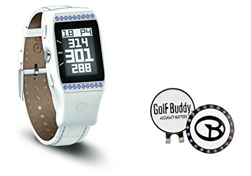 Golf-Buddy-Ladies-LD2-GPS-Watch-with-Swarovski-Ball-Marker