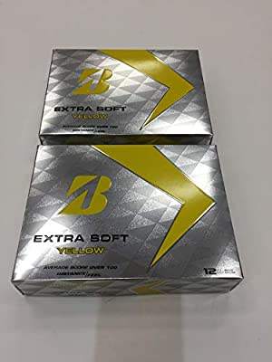 Bridgestone Extra Soft Golf Balls, 2-Dozen Yellow