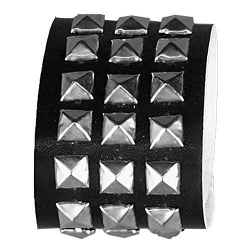 Studded Wristband Triple Halloween Accessory