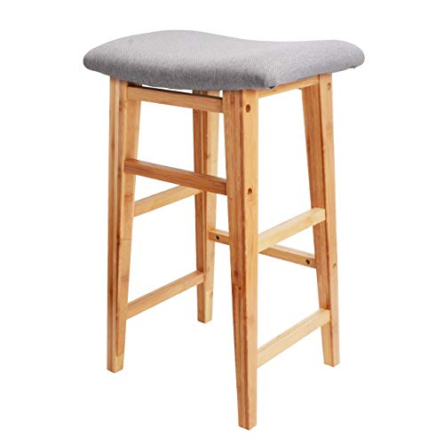 - Counter Stool Height Bar Stool Chair - Backless 24