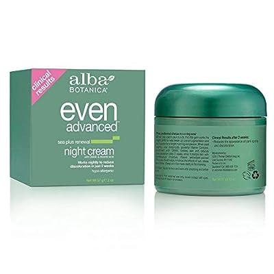Alba Even Advanced Sea Plus Renewal Night Cream, 2 oz