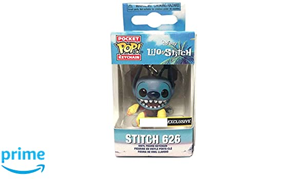 Amazon.com: Funko Pocket Pop! Lilo and Stitch Keychain ...