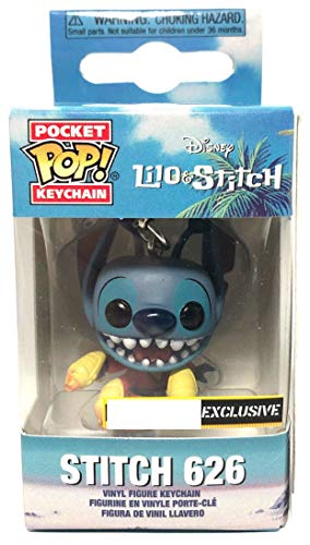 (Funko Pocket Pop! Lilo and Stitch Keychain Keyring Stitch 626 Exclusive)